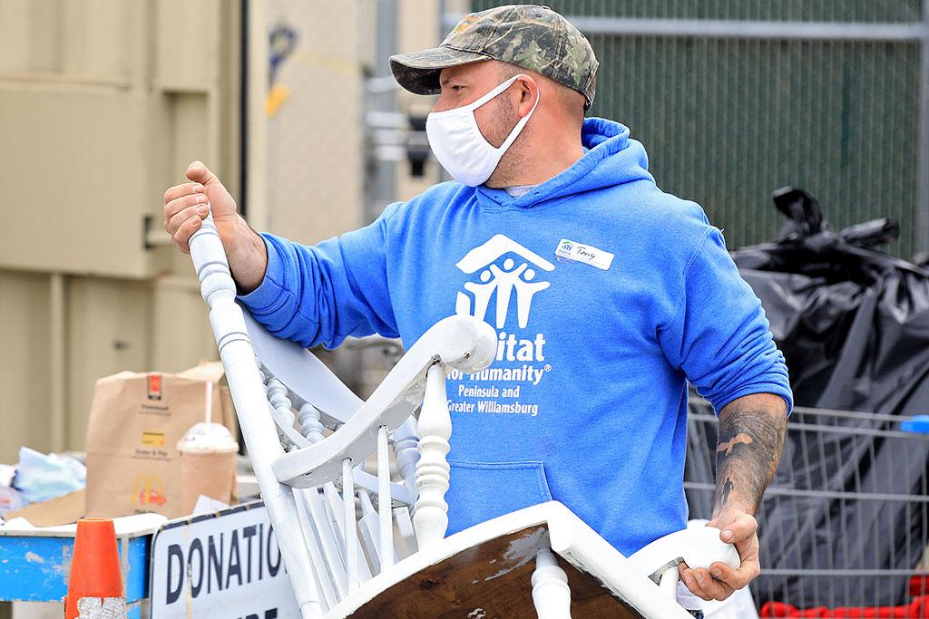 Newport News ReStore donation drop-off Thursday January 21, 2020.