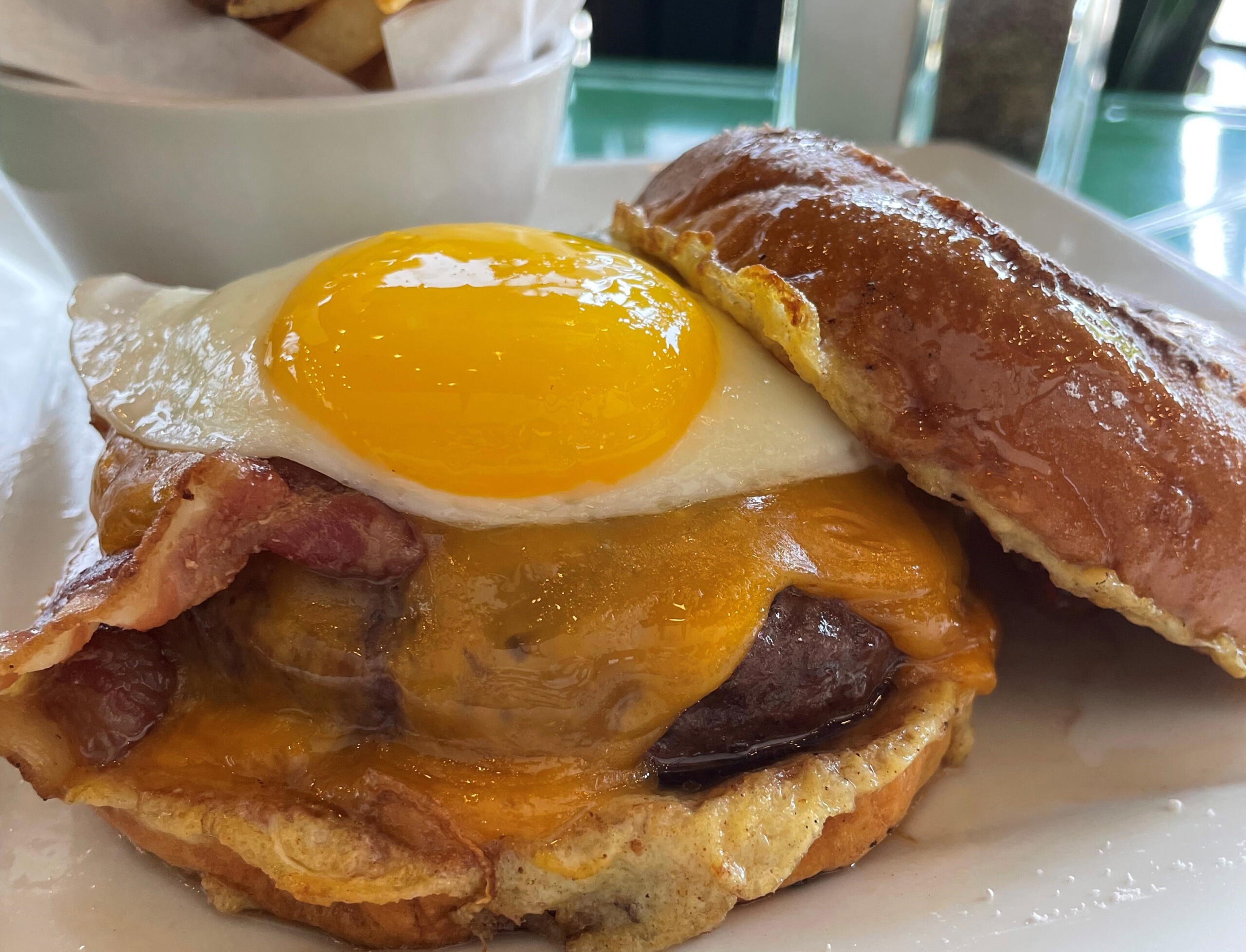 The Hangover Burger