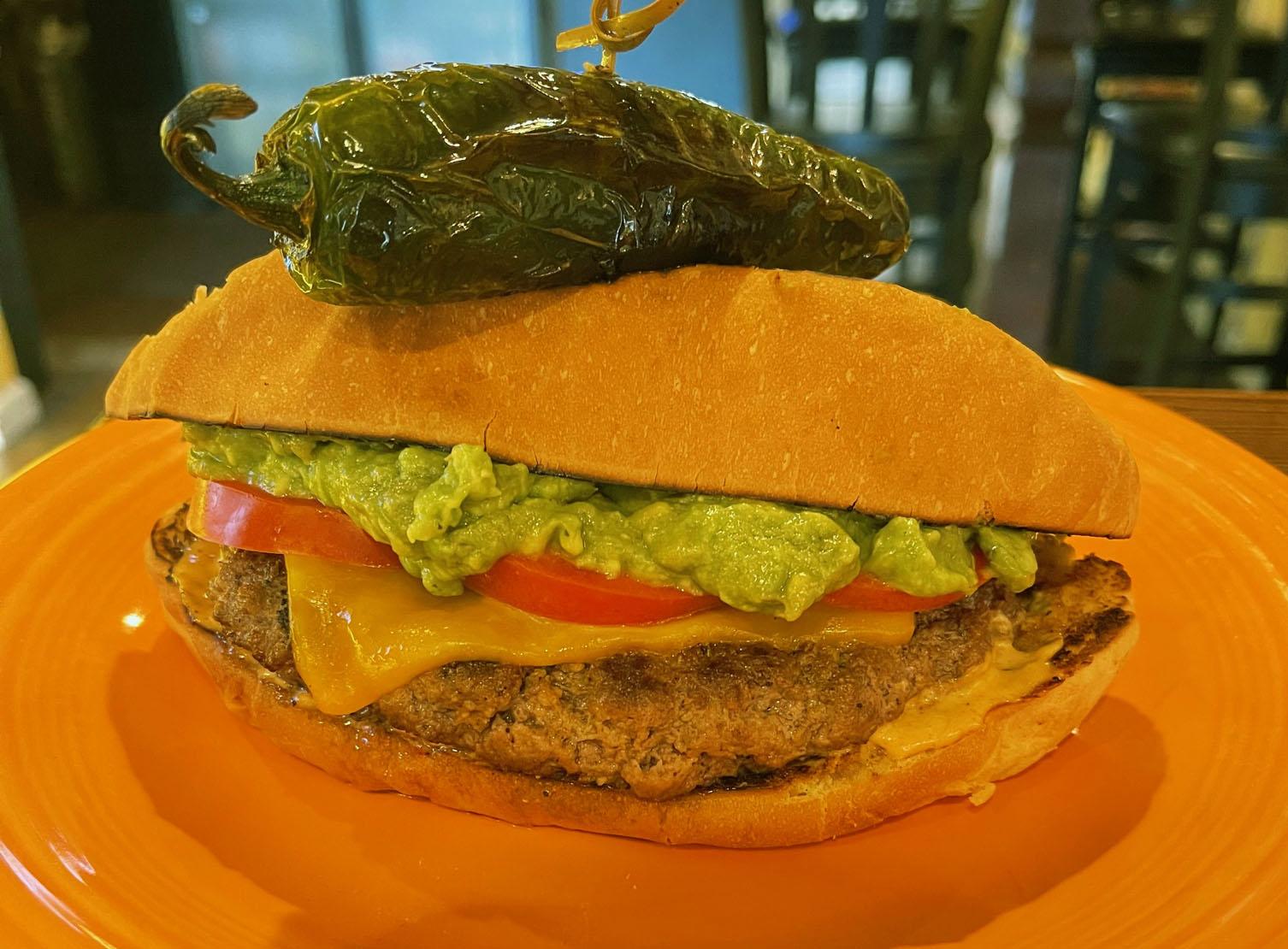 Komos Mexican burger