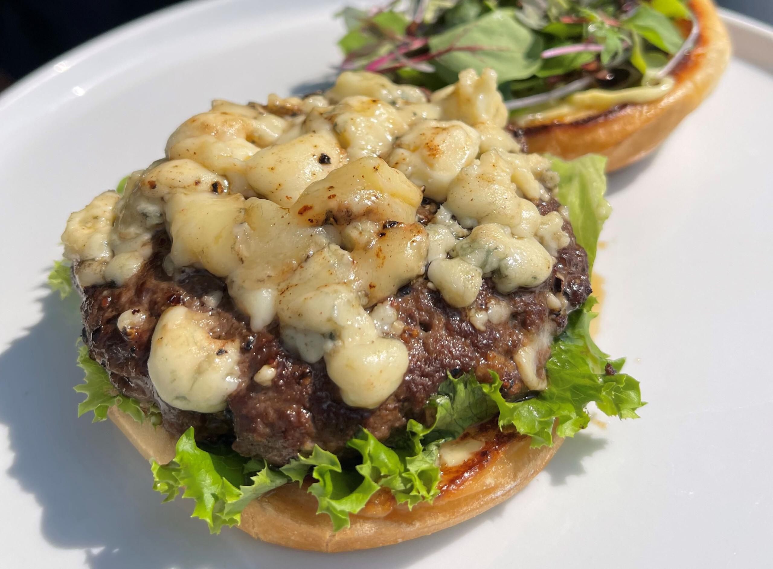 bleu Cheese Hanger Burger