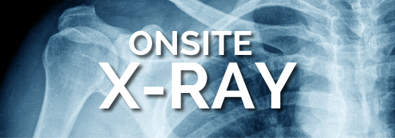 Learn more about our On-Site X-RAy SERVICES