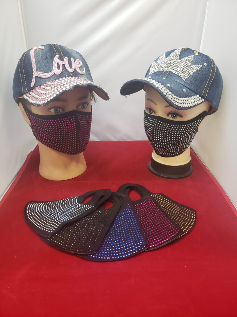 Colorful Beaded Masks