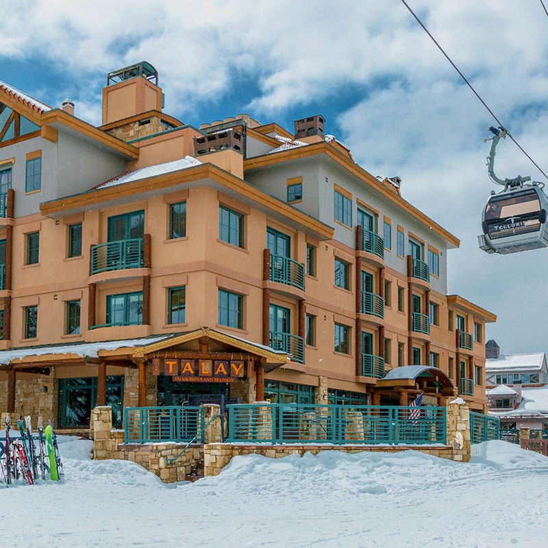 Snowy Inn at Lost Creek