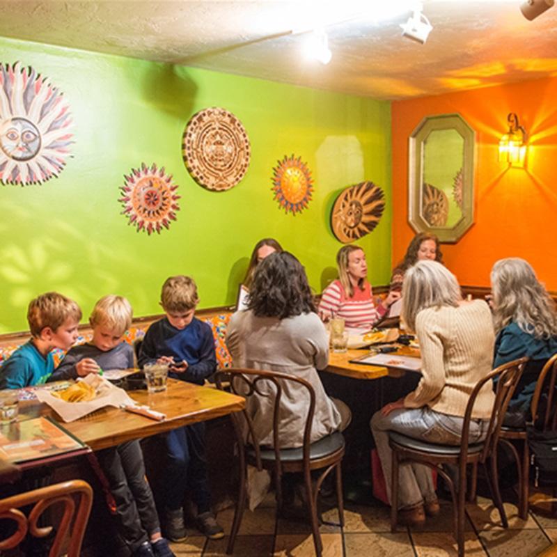 Esperanzas Bright Interior With Diners