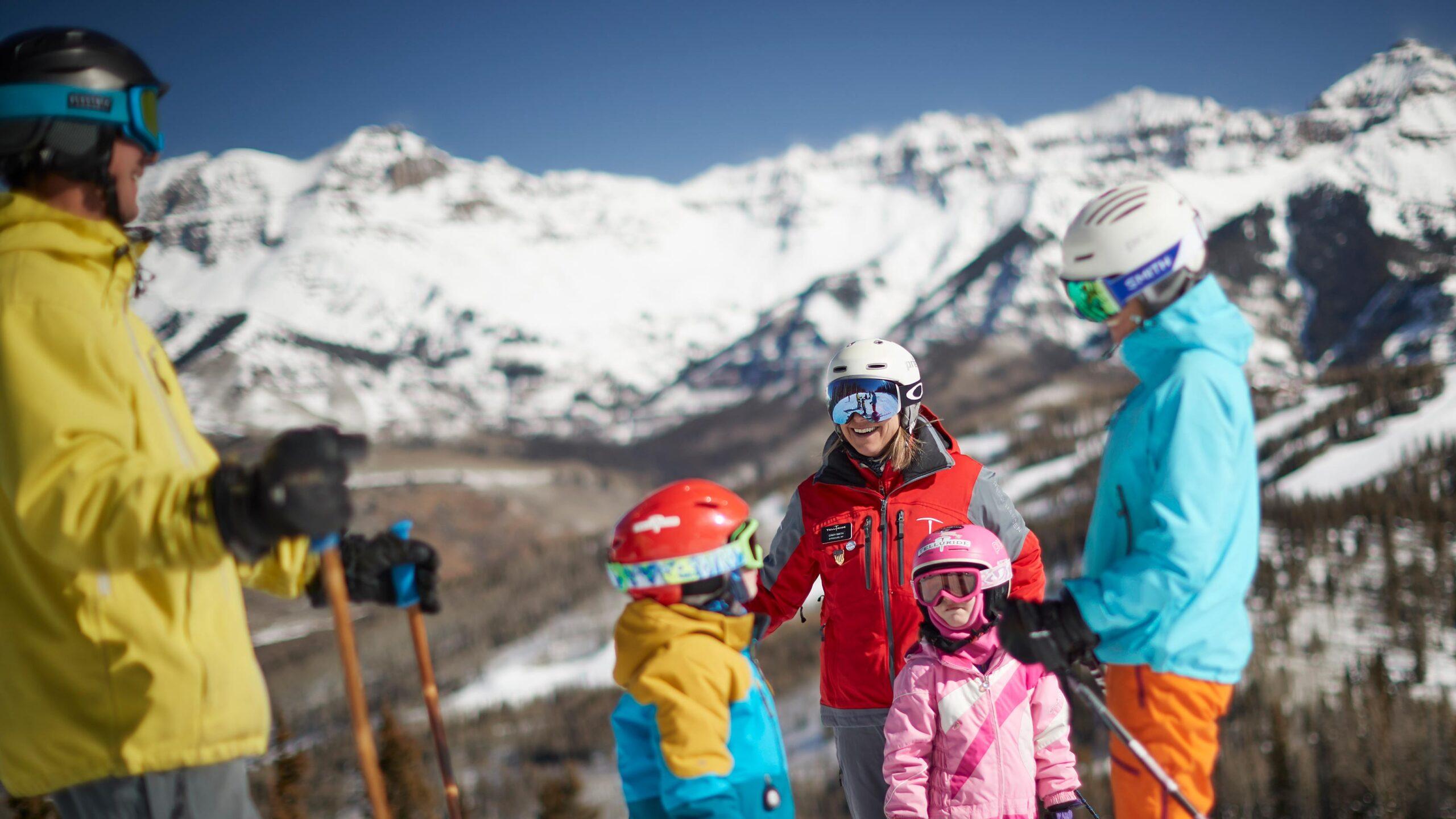 Ski School Family