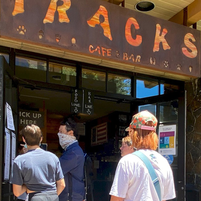 Tracks Cafe & Bar Exterior