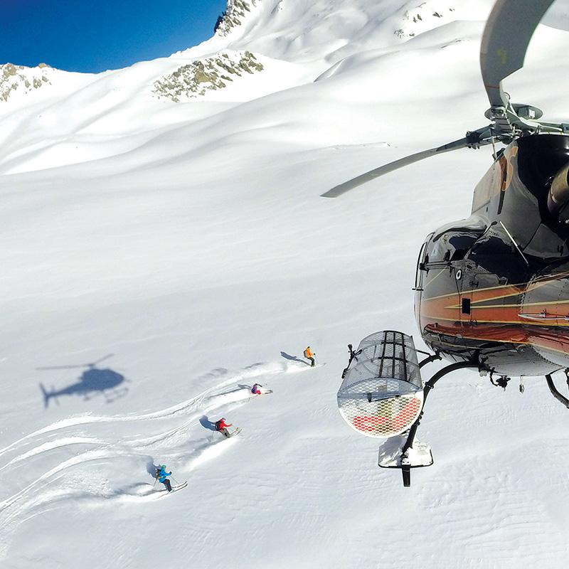 Heli-Ski Camp