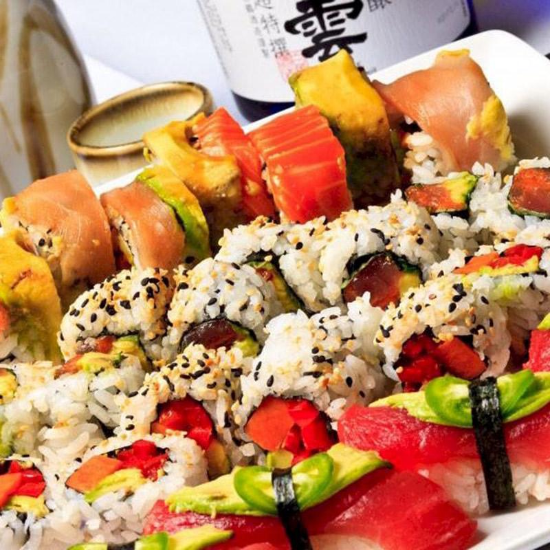 Pescado Sushi Plate