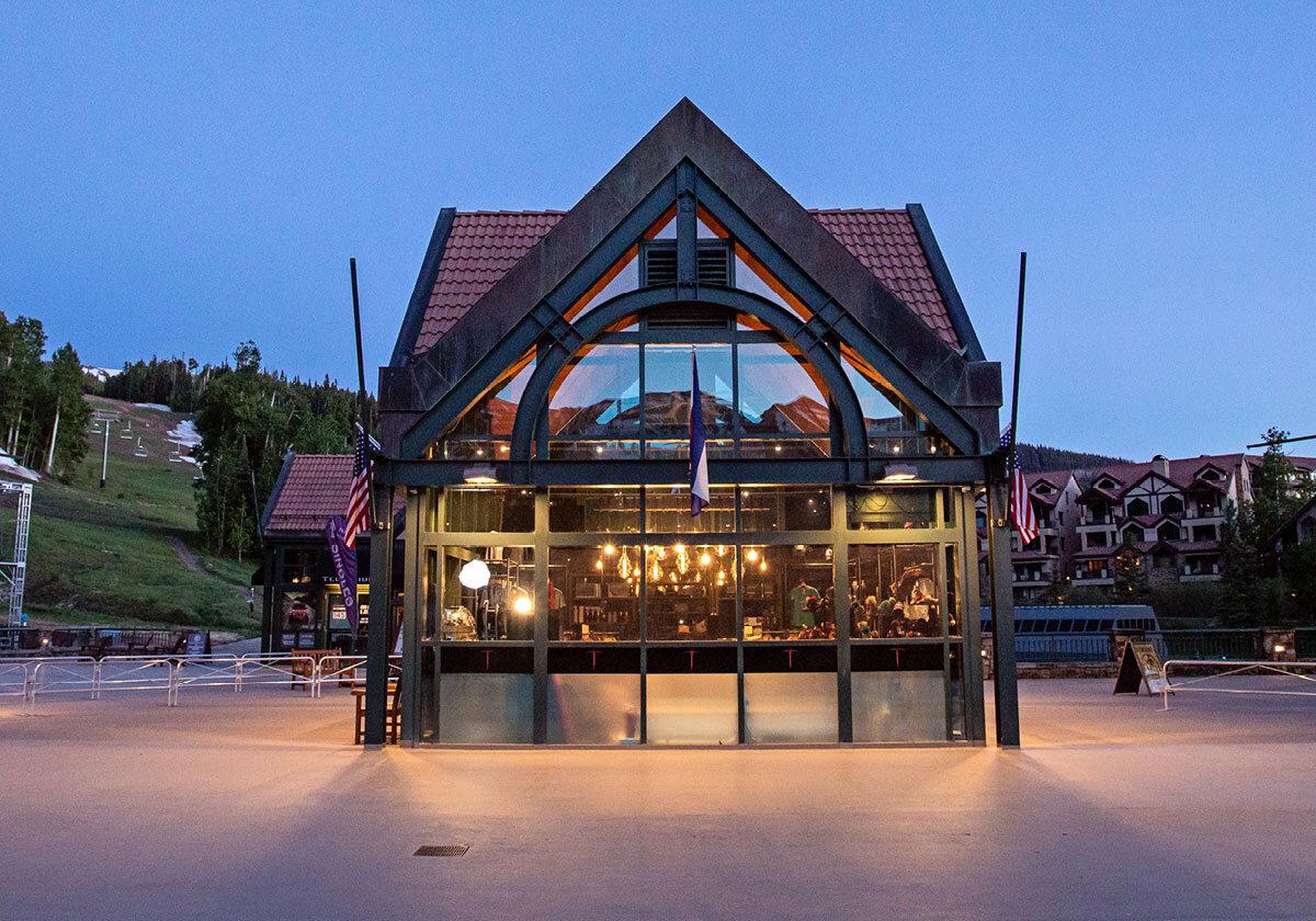Telluride Resort Store Exterior