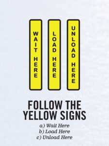 Follow the Yellow Signs