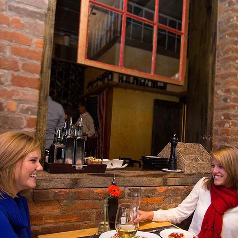 Telluride Bistro Interior With Diners