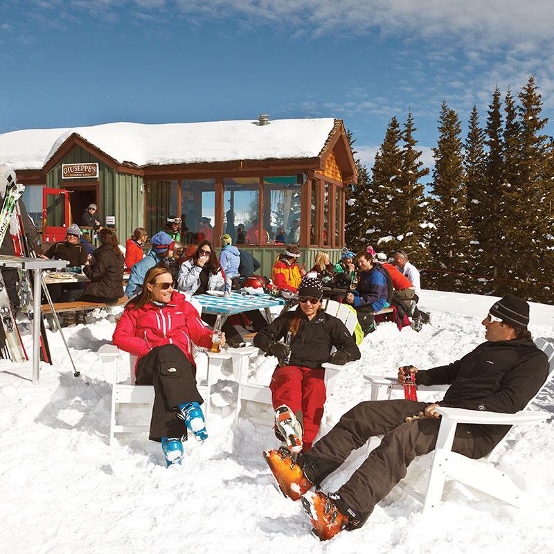 Giuseppe's SUnny Winter Outdoor Seating