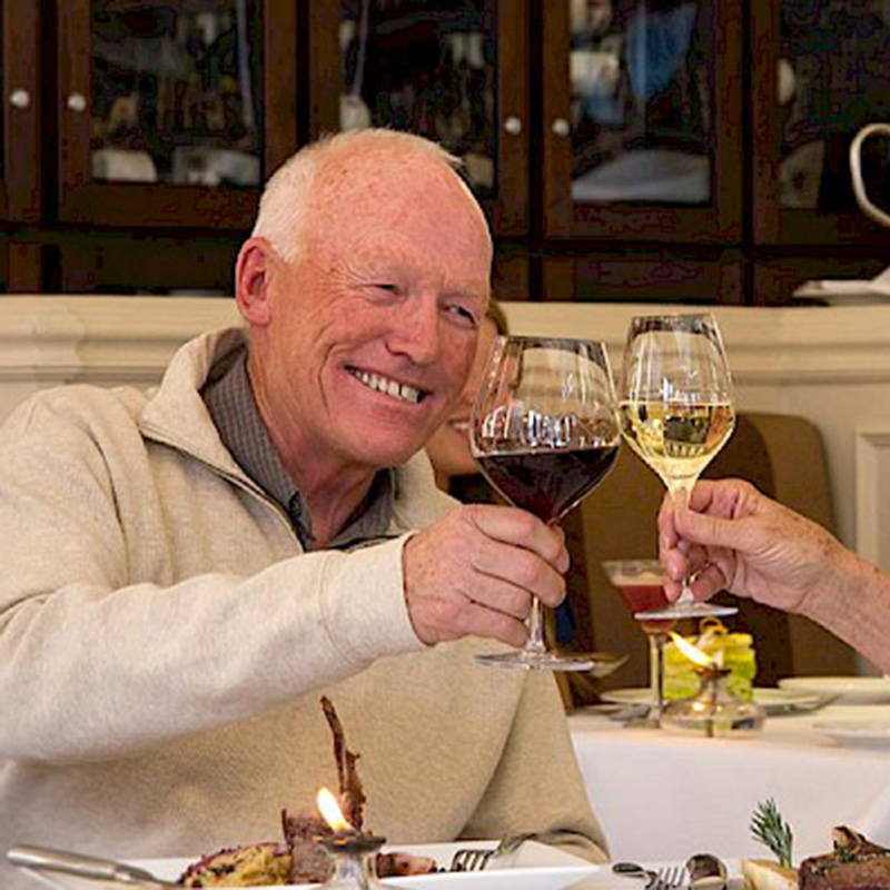 New Sheridan Chop House Diners Toasting