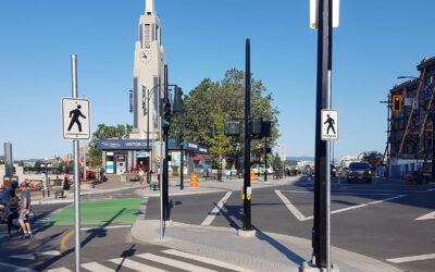 Wharf / Humboldt Street AAA Bike Lanes