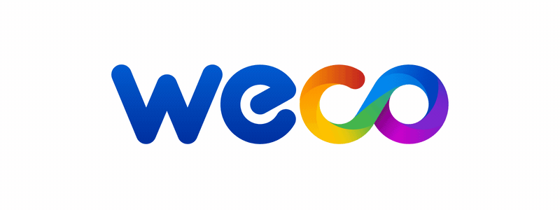 Animated logo Weco