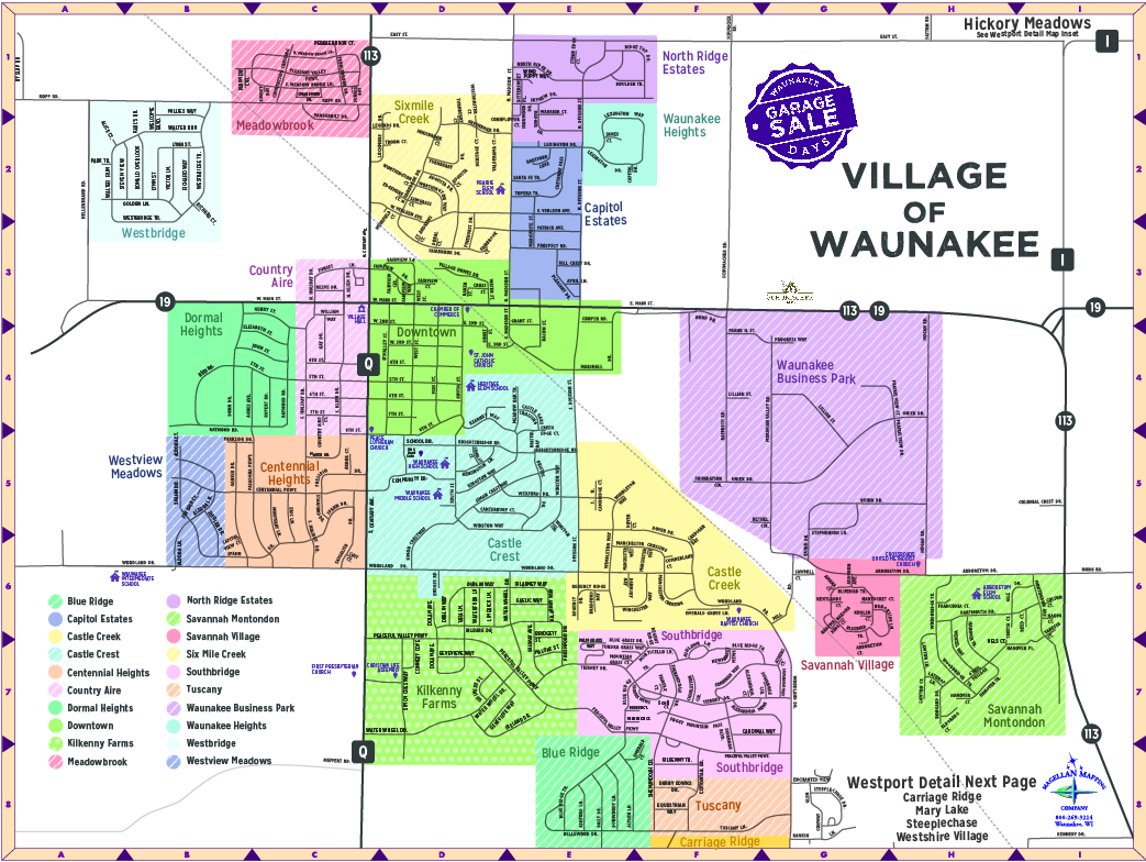 Website Map File 2019 Icon (Waunakee)