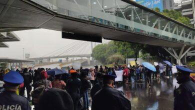 lluvia en aeropuerto