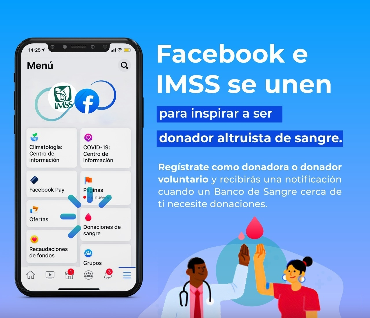imss y facebook