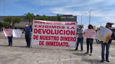 Defraudados de Autofin Monterrey-Xalapa, piden devolución de su dinero