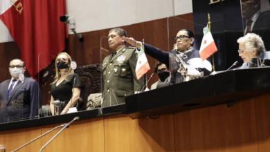 No abordó Rosa Icela Rodríguez temas Salamanca y Michoacán en su comparecencia
