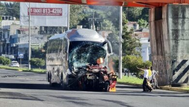 Tres muertos y seis heridos dejó aparatoso accidente en bulevar Xalapa-Banderilla