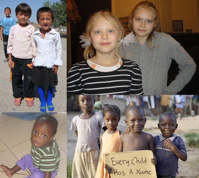 children who were adopted because of Save Adoption