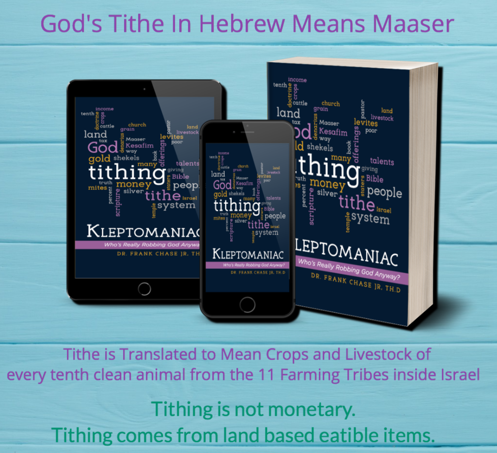 Kleptomaniac: Who's Really Robbing God Anyway? Excerpt from Chapter 3, Abram's Tithe Before the Law and the Established Covenants