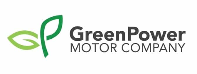 EV stocks greenpower motor company logo