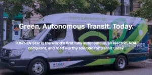 Green Power Motor fully autonomous electric bus