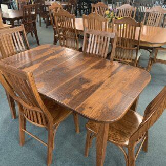 Amish Dining Set by Oak Heritage