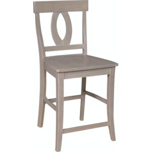 S09-1702B Verona Stool in Taupe Gray