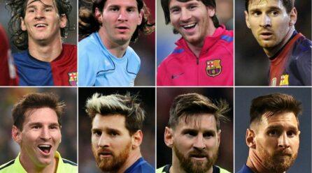 Messi cumple veinte años de éxitos