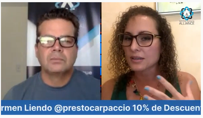 """Entrevistando a Carmen Liendo """"Emprendedora"""""""