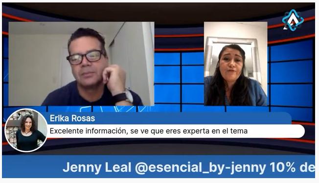 """Entrevista Jenny Leal """"Emprendedora"""""""