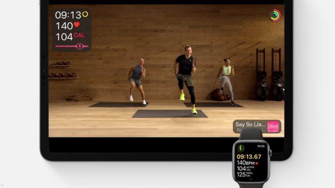 Apple Fitness+:  suscripción personalizada para hacer ejercicios