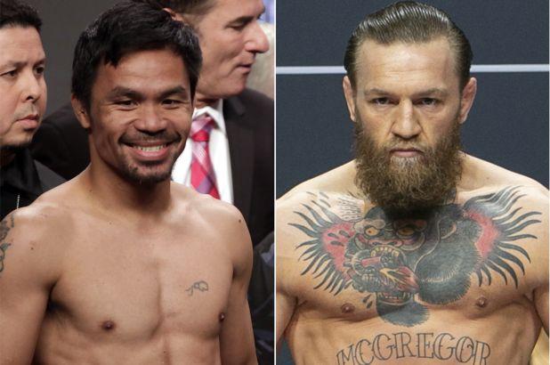 McGregor anuncia combate contra Pacquiao en Oriente Medio