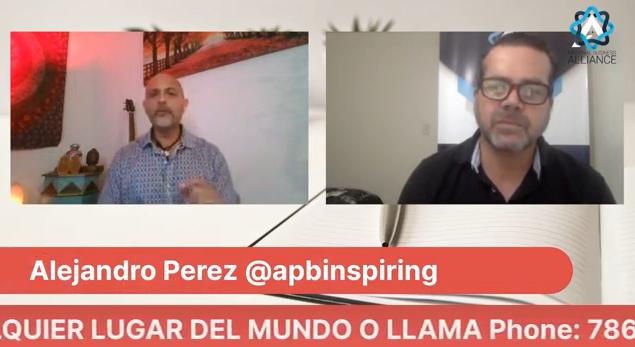 Vean esta entrevista de Alejandro Perez Bolaños @apbinspiring …