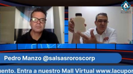 Entrevista Con Pedro Manzo y sus Salsas de Sabores!