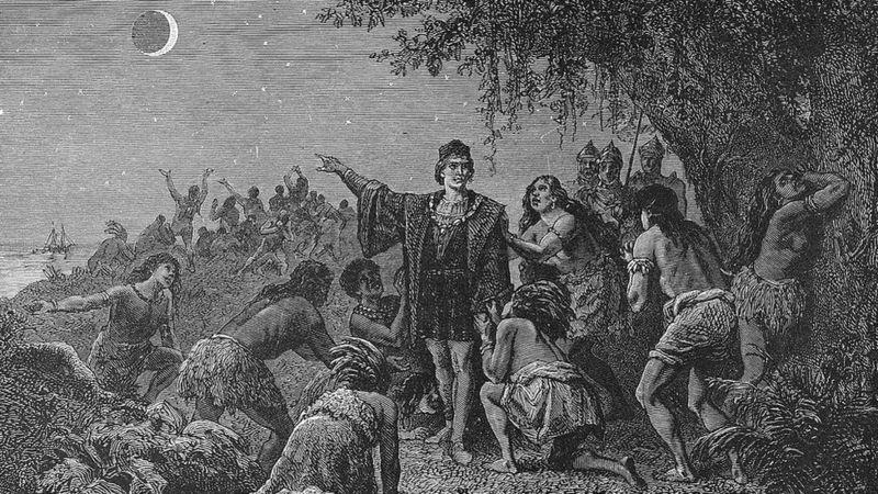 12 de octubre: el eclipse que salvó la vida de Cristóbal Colón