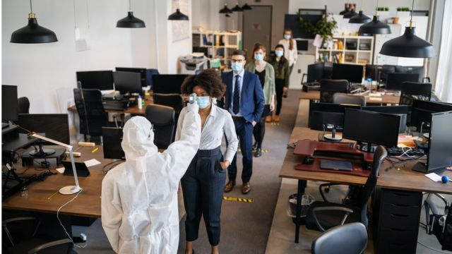 """""""Oficinas del futuro""""  Gracias a la pandemia"""