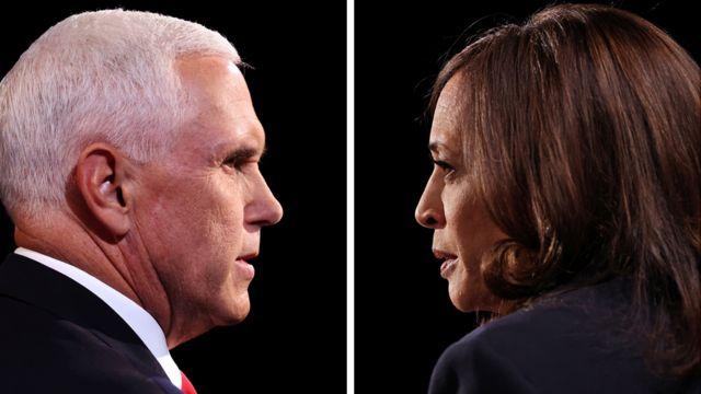 Harris vs Pence: quién ganó el tenso y monótono debate