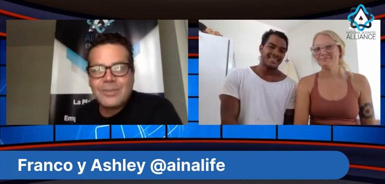 Entrevista Con Franco y Ashley desde Hawaii y su Emprendimiento Ecologico