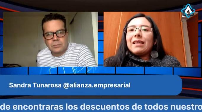 Contadora Sandra Tunarosa entrega consejos para emprendedores