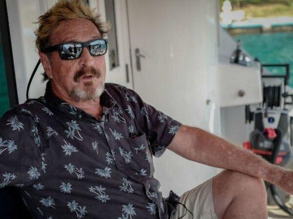 John McAfee: encuentran muerto en una cárcel en España