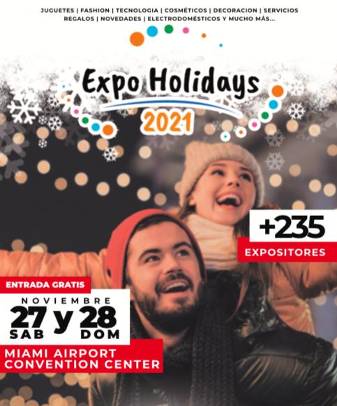 """Reserva tu Stand para el """"Expo Holidays 2021"""" Con Plan de Pago!!!"""