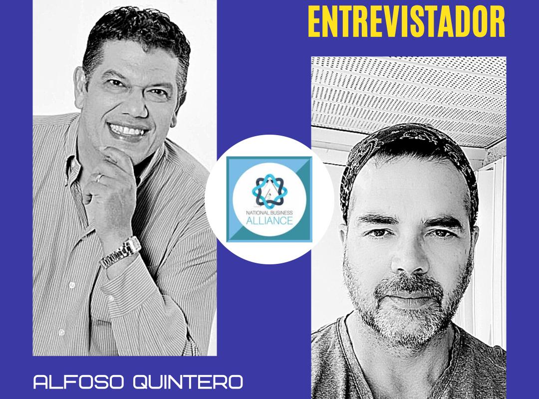 """Entrevista con Alfonso Quintero  """"Leyenda viva del periodismo deportivo Latinoamericano."""