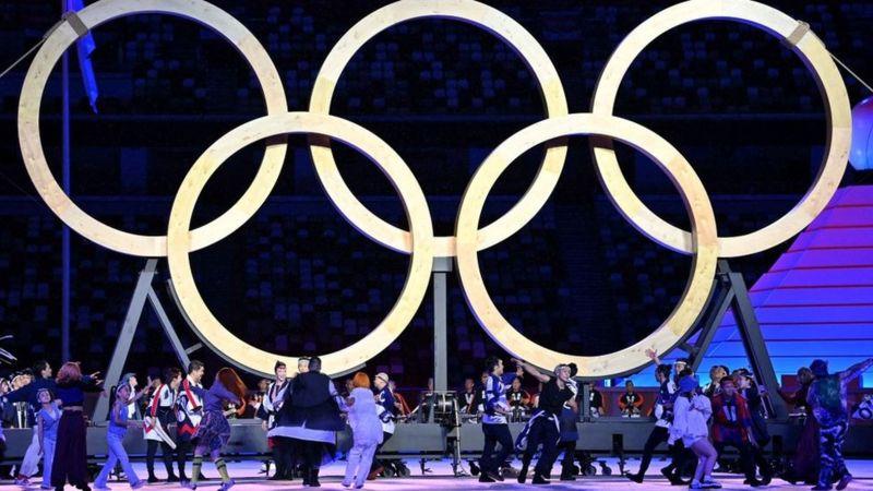 Arranca Tokio: las imágenes de la inauguración de los Juegos Olímpicos