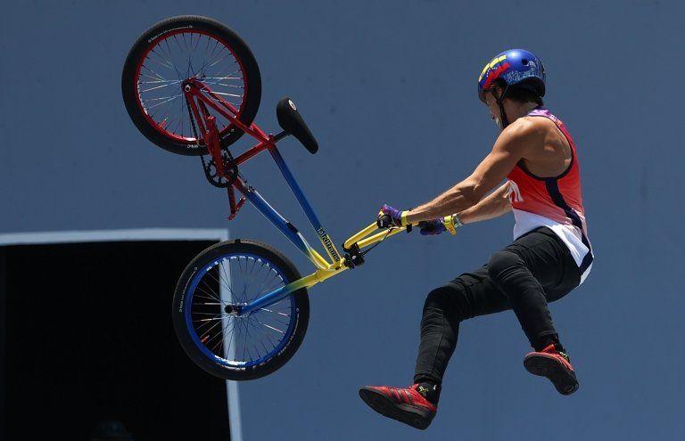 Daniel Dhers suma BMX  medalla para Venezuela en las Olimpiadas