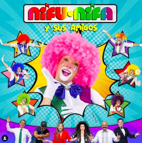 Las Payasitas Nifu Nifa celebran sus 37 años