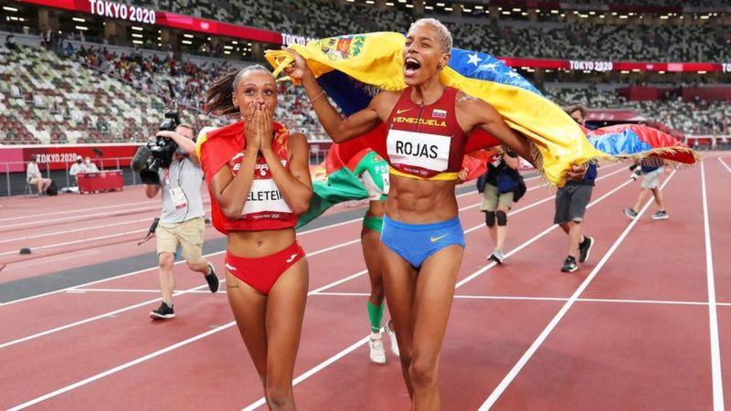 Yulimar Rojas gana oro para Venezuela y bate el récord olímpico y mundial
